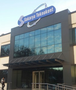 Sakarya Technopark entrance